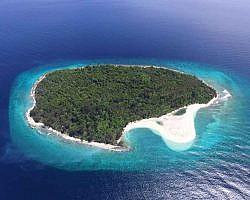 One part of Raja Ampat islands
