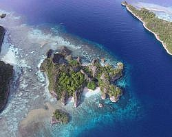 On land or from the air view , Raja Ampat islands is never short of mesmerising its visitors
