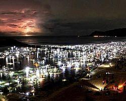 sea worm festival bau nyale in lombok