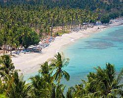 View of Malimbu beach from Malimbu hill