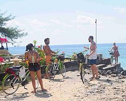 Cycle round Gili Trawangan and discover local island lifestyles