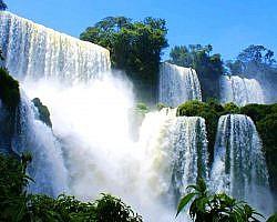 Beautiful waterfalls in Rinjani National Park