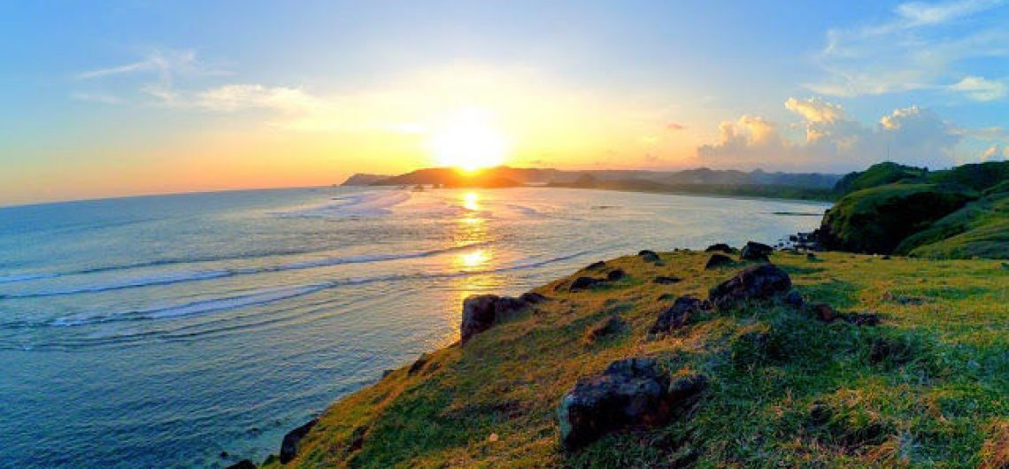 Great Views Of Lombok Scenery Merese Hills In Central Lombok