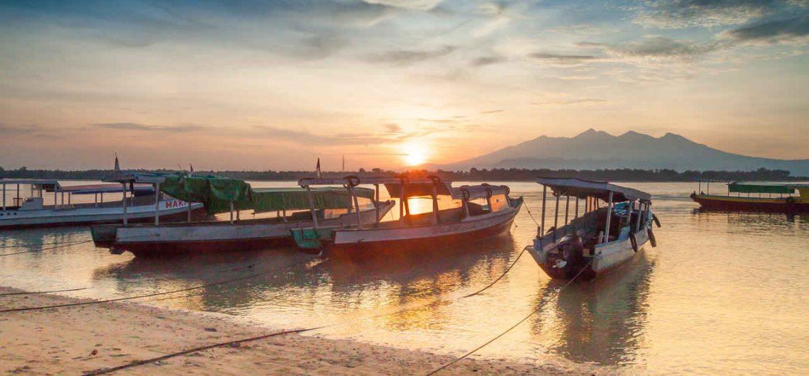 Gili Trawangan in the early morning