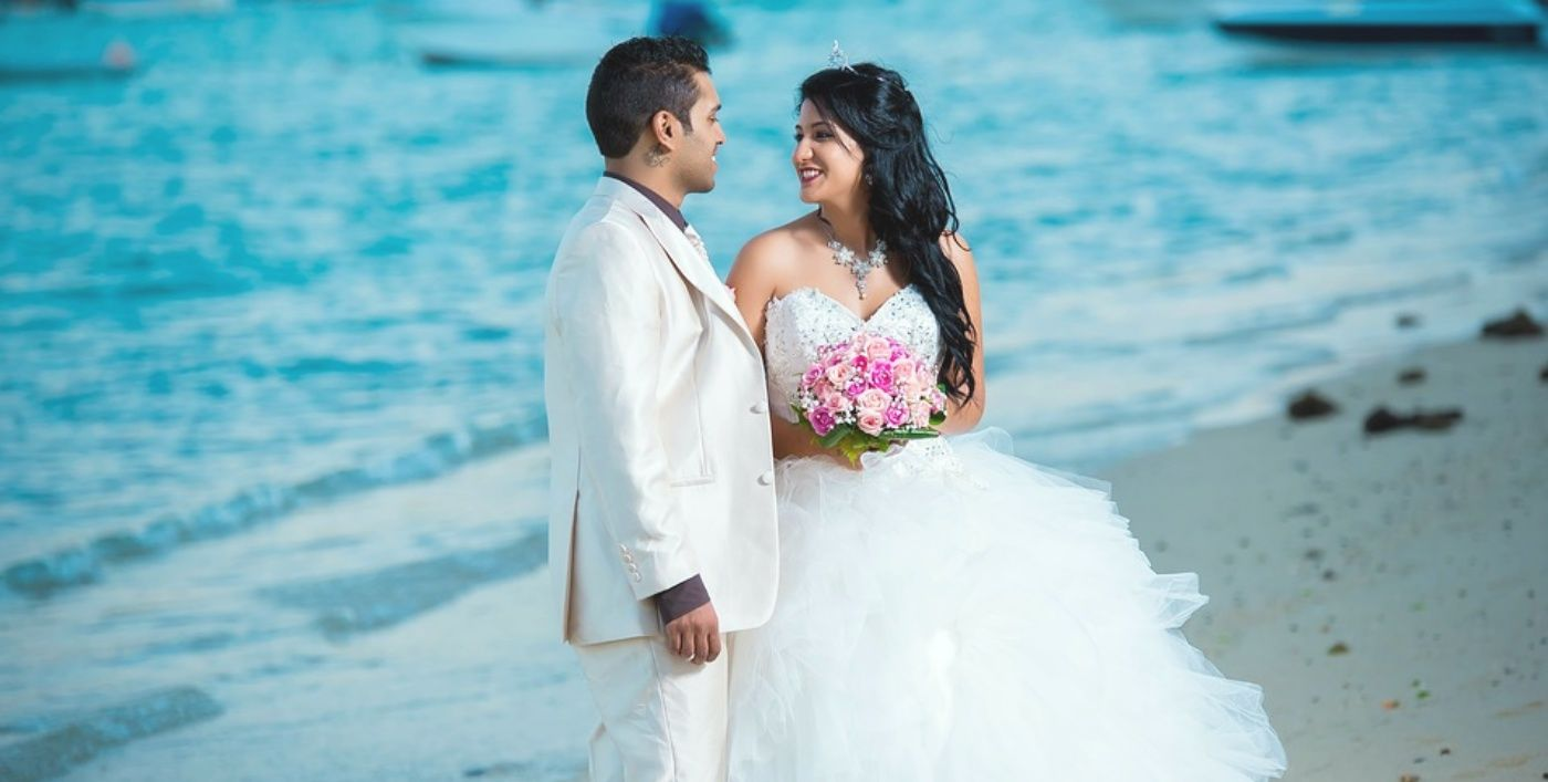 ROMANTIC ISLAND WEDDING RECEPTION JUST FOR YOU