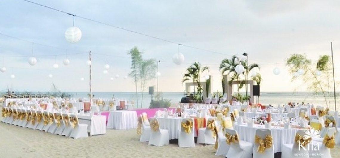 Beach Wedding Reception A