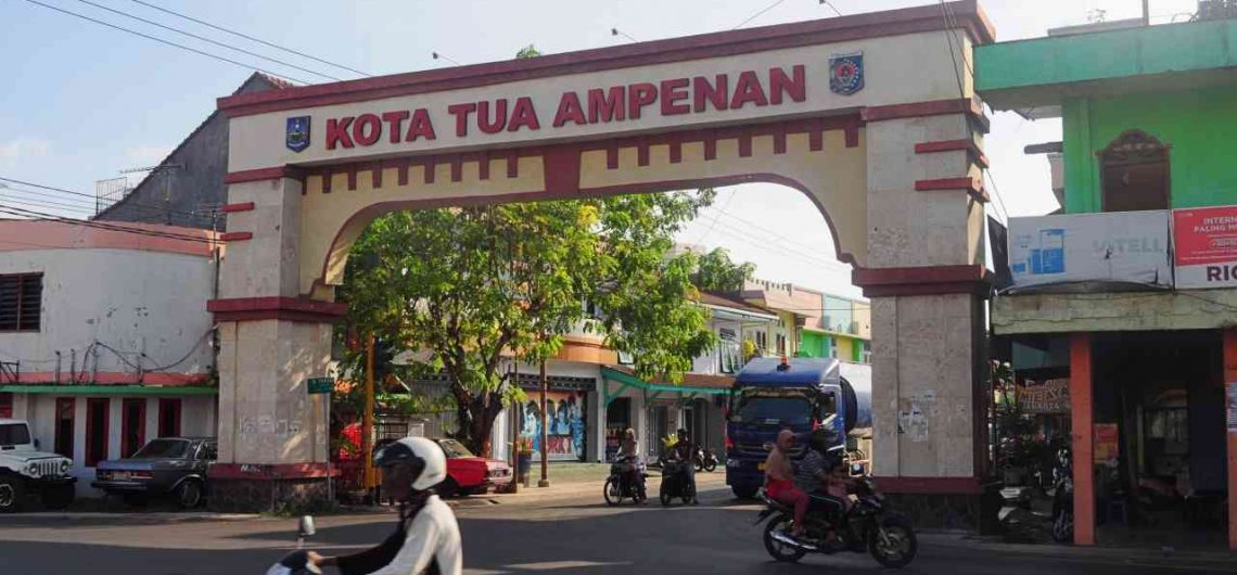 Ampenan is the oldest town in Lombok
